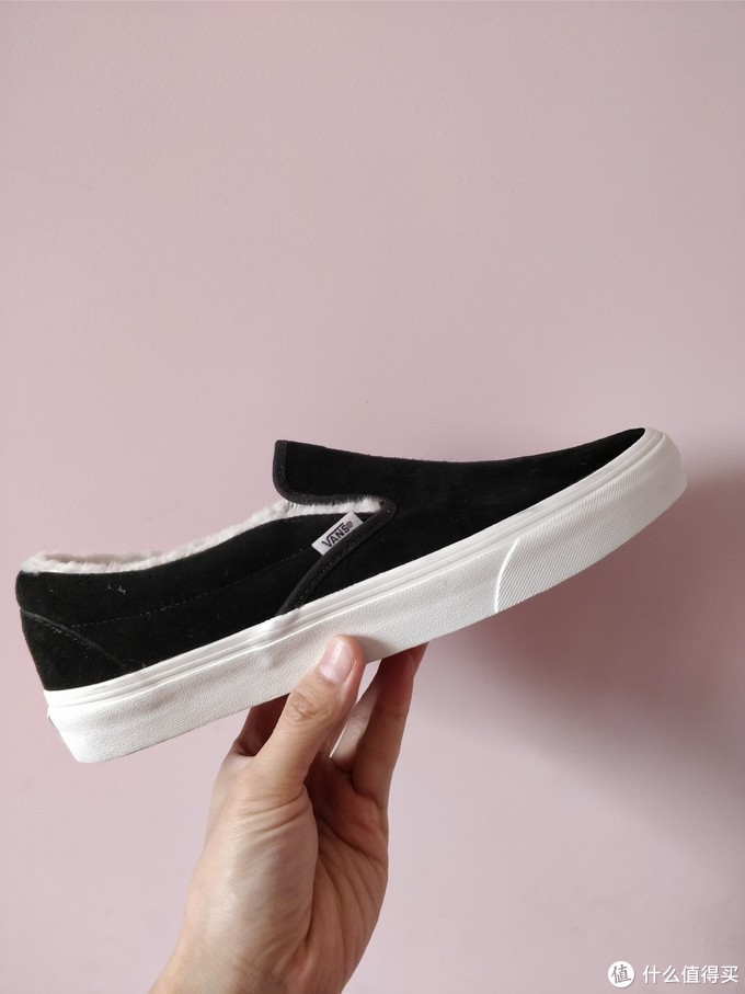 反季晒鞋:VANS 范斯 Slip-On 一脚蹬男女加绒休闲鞋