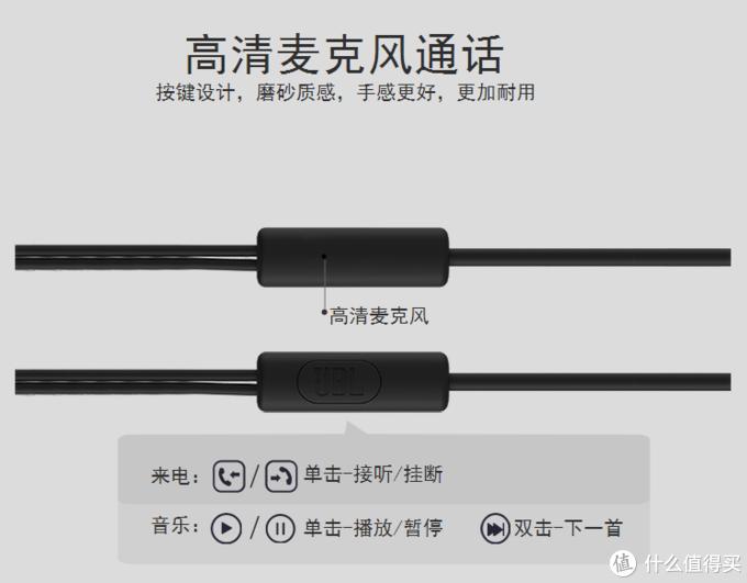 低价有惊喜—JBL C100SI 入耳式线控耳机