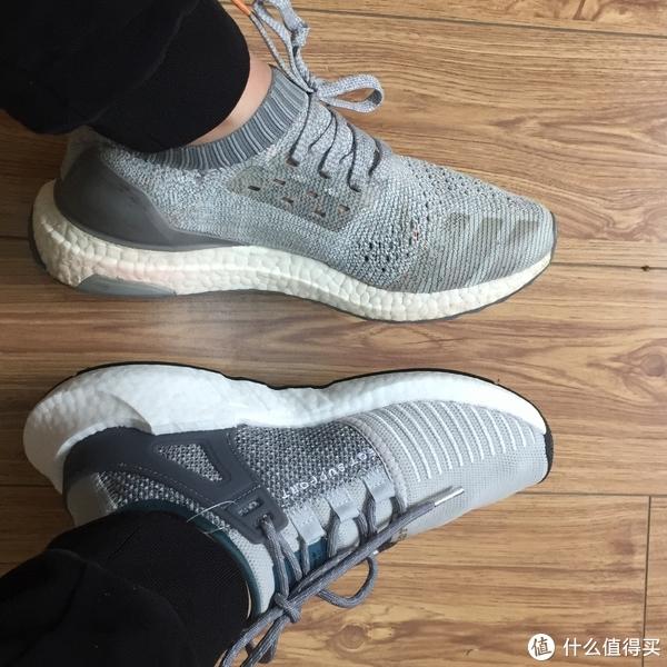#原创新人#入了boost的坑:Adidas 阿迪达斯 UltraBOOST Uncaged和EQT Support 93/17 跑鞋