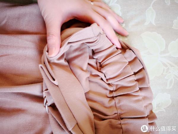 舒适显瘦:UNIQLO 优衣库 蝴蝶结宽腿七分裤 晒单
