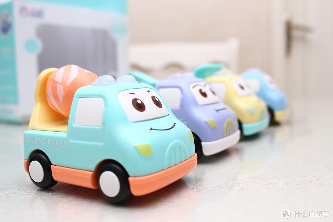 也许是最萌的小孩玩具了—Moibokids 米宝兔 工程惯性车