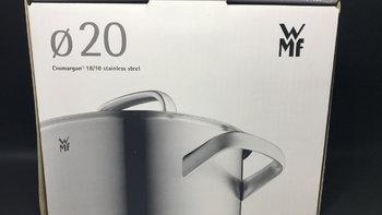 福腾宝 Cromargan 20CM 18/10 不锈钢 双耳汤锅外观展示(锅底|把手|锅盖)