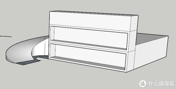 滑梯SU模型