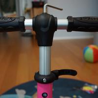 21st scooter儿童闪光滑板车使用总结(安装|双轮|车体|做工|车轮)