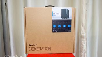 群晖 DS218+ 2盘位 NAS网络存储服务器开箱总结(硬盘|亮度|按钮|风扇)