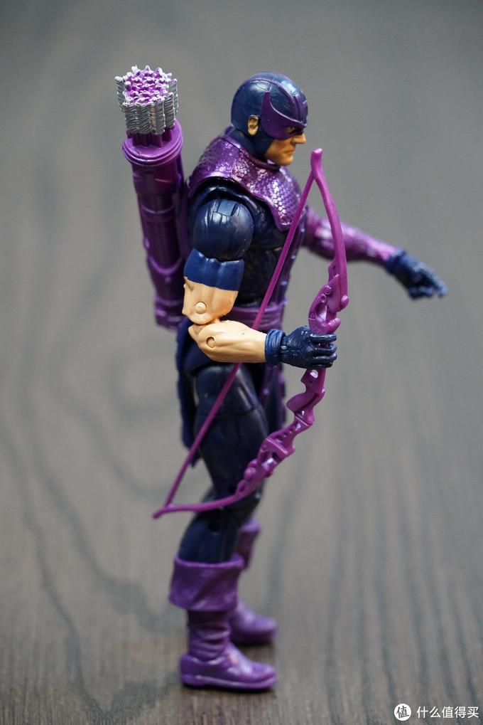 HASBRO 孩之宝 漫威 复仇者联盟 永恒传奇系列 鹰眼模型开箱