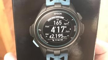 爱普生 PROSENSE J300 心率手表外观展示(背面|传感器|按键)