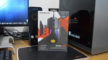 进阶的王者: SteelSeries赛睿 Rival 600 幻彩版游戏鼠标 评测