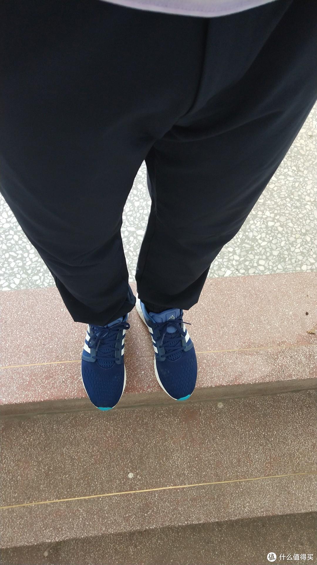 全掌boost + 透气首选:Adidas 阿迪达斯 cc rocket boost m 跑步鞋 开箱