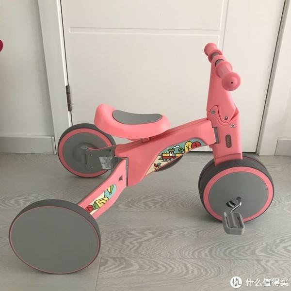 """种草了""""众测产品"""":柒小佰 变形儿童车开箱晒单"""