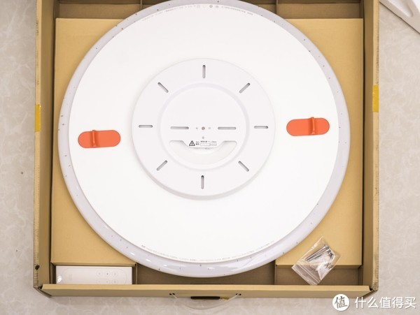 不能语音控制的吸顶灯不是好夜灯:Yeelight 480星空版皎月吸顶灯安装使用评测