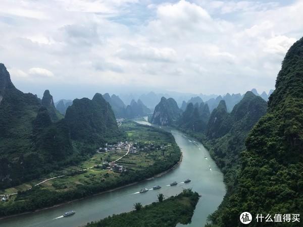 老寨山俯瞰兴坪古镇、桂林不好玩?可能是你不懂玩!