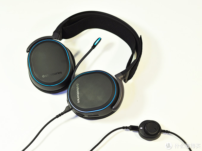 钢铁直男的多功能利器:SteelSeries 赛睿 Arctis Pro 专业级游戏麦克风 游戏耳机耳麦 众测分享