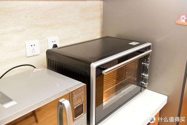 烘焙的美好时光:Hauswirt 海氏 HO-F50 家用50L 烤箱