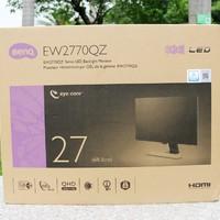 明基 SW240 广色域显示器开箱展示(面板|材质|支架|脚贴)