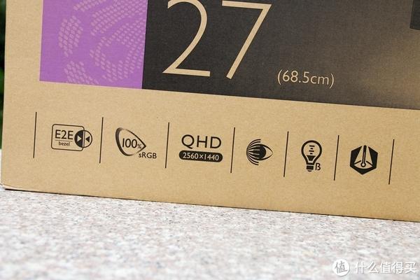 大妈首发,护眼无边框,视界新体验:BenQ 明基 EW2770QZ 显示器