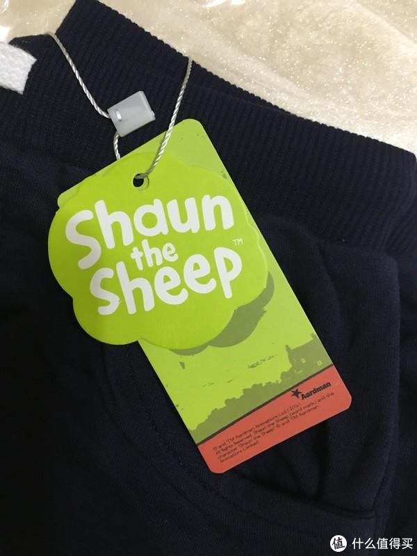 给孩子的周边:Shaun the Sheep 小羊肖恩 薄款长裤+短袖晒单