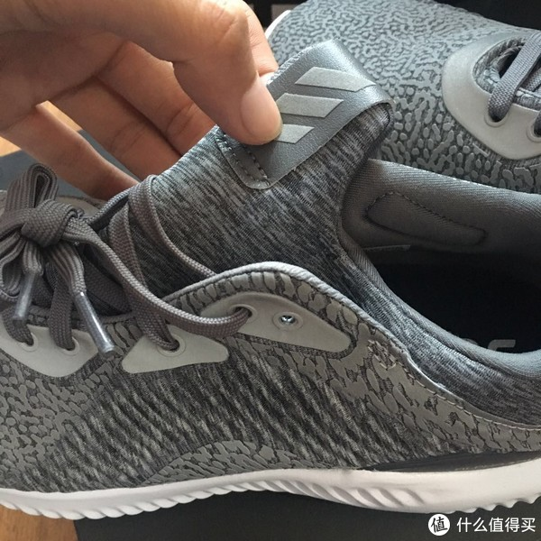 Adidas 阿迪达斯 Alphabounce HPC AMS 跑鞋 之懒人晒单