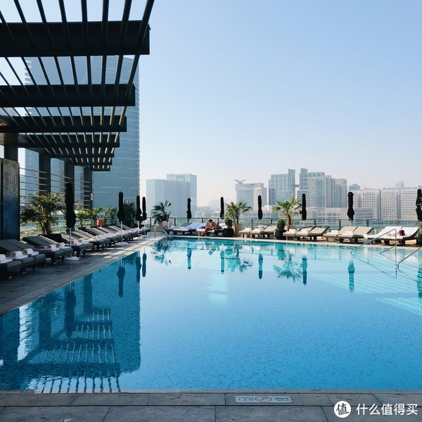 ▲酒店的泳池