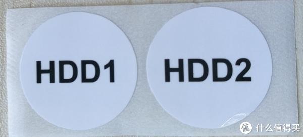 附有硬盘贴,用来区分硬盘不易搞混