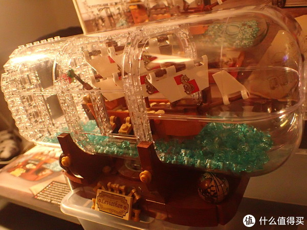 存钱买LEGO 篇二:IDEAS 创意系列 21313 典藏瓶中船