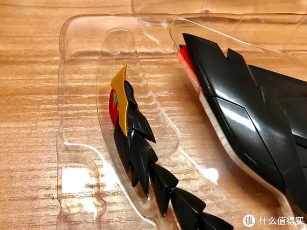 尾翼推进器凤尾,每个关节位都能动,超赞的