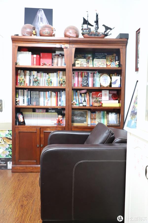晒一晒我家的简美书柜