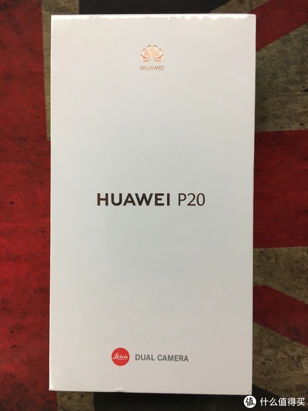 HUAWEI 华为 P20 手机开箱体验