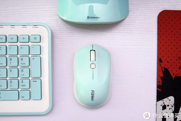 给财务小姐姐选择的一套性价比键鼠—Fühlen 富勒 MK880 键鼠套装