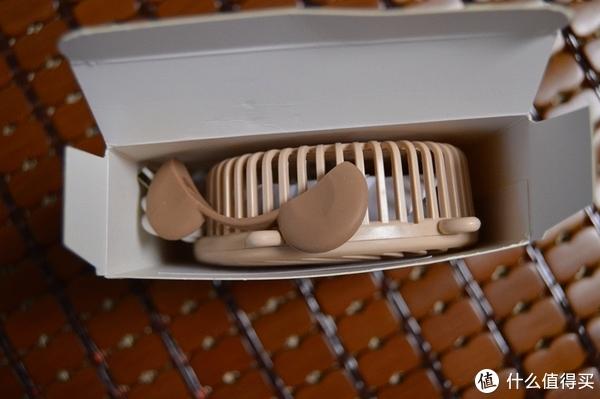 萌宠台式mini风扇 开箱