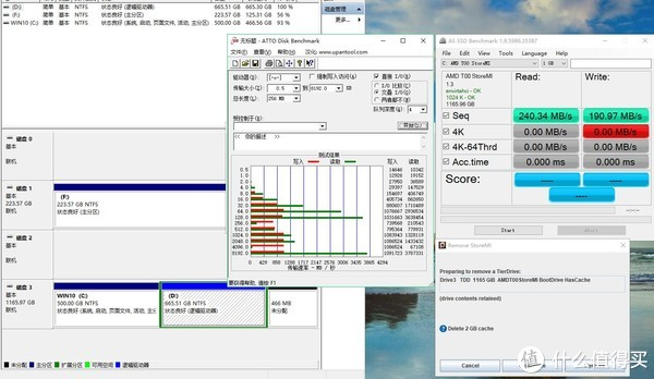 X470主板专属技能,AMDStoreMI—第二代RYZEN折腾历程
