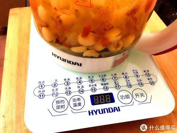生活中的小电器 篇二:你不懂的极简生活之魅力:HYUNDAI 现代 多功能养生壶