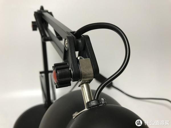 买灯也得要情怀:TCL 美式 E27标准螺口 铁艺折叠台灯