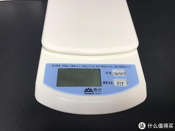 这秤精度不错哦:SENSSUN 香山 EK3820 高精度电子厨房称 伪开箱及小测