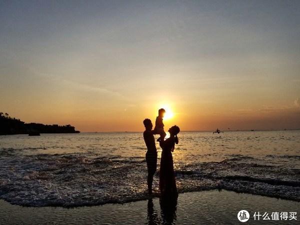 库布海滩日落