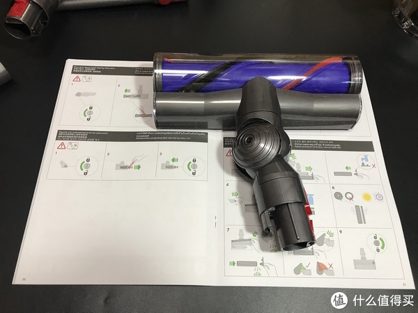V10上市我开用V8:dyson 戴森 V8 Absolute手持无线吸尘器开箱及使用