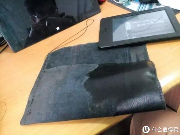 这是一片皮包的外盖