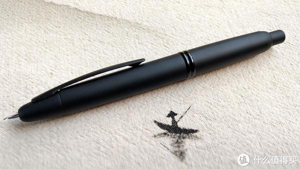 力挽狂澜,百乐Capless黑武士F尖由弯变直钢笔评测