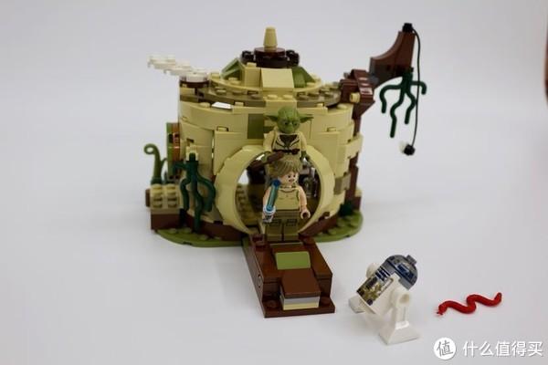 老司机的精品课—LEGO 乐高 星战之尤达小屋 75208