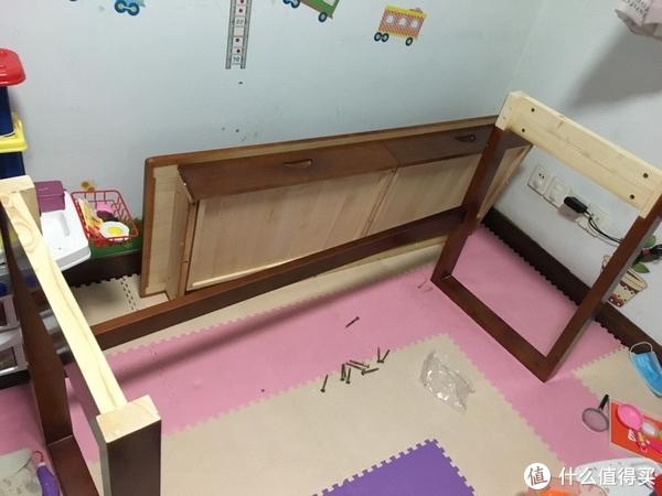 16.先安装桌腿和横杆