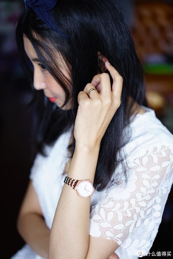 优雅灵动,简约时尚:飞亚达Charming时尚机械女表 真人试戴