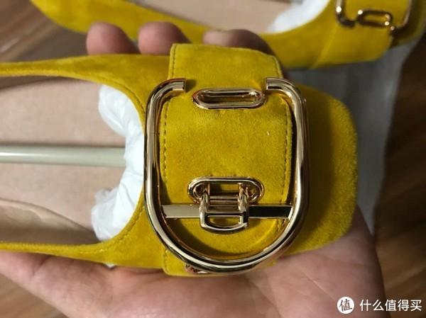 太太的又一双单鞋:Millie's 妙丽 羊绒皮革女式黄色休闲鞋开箱+真人秀