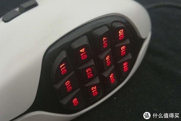 晒一下收藏的MMO鼠标 篇四:Logitech 罗技 G600 游戏鼠标晒物