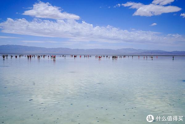 暑季自驾游青海湖,仙女小姐姐和茶卡盐湖更配哦!