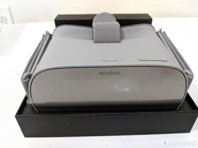 Oculus Go VR 一体机开箱 - 休闲类VR的春天?
