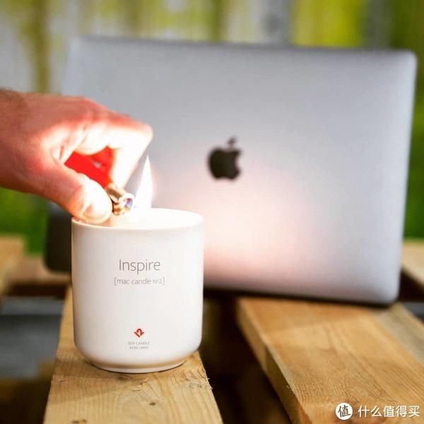 仿新Mac开箱气味香薰蜡烛