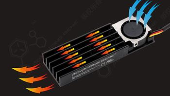 加装风扇—彻底搞定SSD的高温衰减!