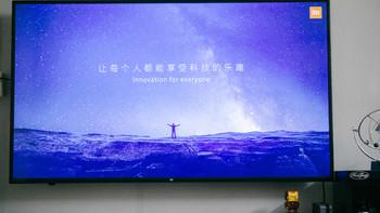 小米 4C L43M5-AX 液晶电视外观展示(屏幕|厚度|边框|插头|遥控器)
