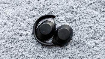 索尼 MDR-1000X 耳机外观展示(耳机梁|材质|耳罩)