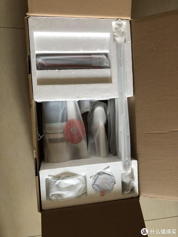送给处女座老妈的母亲节礼物—睿米 手持无线吸尘器开箱